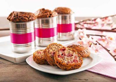 Muffins µε κεράσια